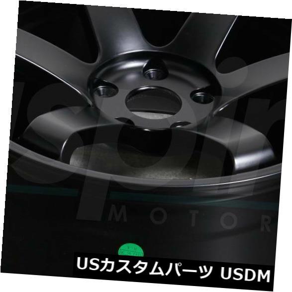 【5%OFF】 海外輸入ホイール 15x8マットブラックホイールJNC 014 JNC014 4x100 20(4個セット) 15x8 of Matte Black JNC014 (Set Wheels JNC 014 JNC014 4x100 20 (Set of 4), TK-Lathe:9819b379 --- learningcentre.co
