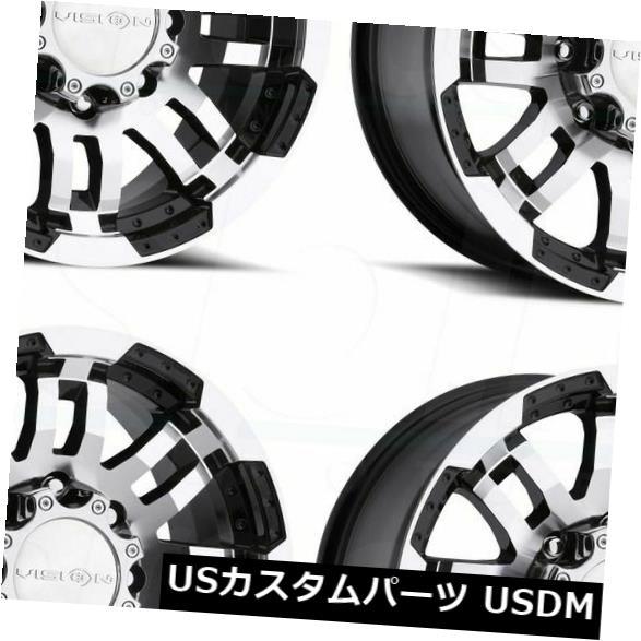 大切な 海外輸入ホイール 18x7.5 Black 375 of Machined Wheels Vision 375 Warrior 6x130 18x7.5 55(4個セット) 18x7.5 Black Machined Wheels Vision 375 Warrior 6x130 55 (Set of 4), SPEED AUTO PARTS:15ea74b2 --- verandasvanhout.nl