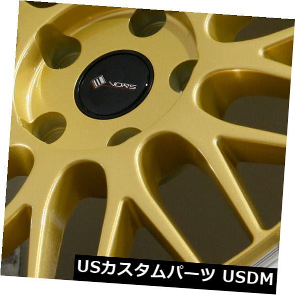 祝開店!大放出セール開催中 海外輸入ホイール 18x8 Wheels Gold Wheels Vors 4) VR8 Wheels 5x110 35(4個セット) 18x8 Gold Wheels Vors VR8 5x110 35 (Set of 4), 松戸市:7bc84a84 --- verandasvanhout.nl
