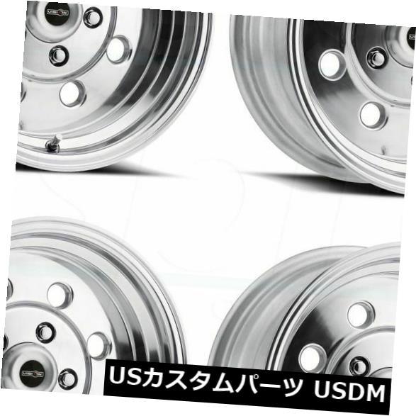 海外輸入ホイール 15x7ポリッシュドホイールVision 531 Sport Lite 5x114.3 0(4個セット) 15x7 Polished Wheels Vision 531 Sport Lite 5x114.3 0 (Set of 4)