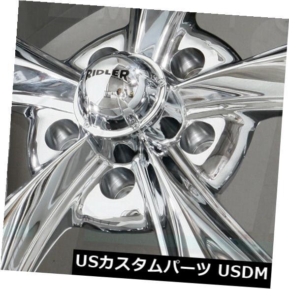 海外輸入ホイール 18x8 Chrome Wheels Ridler 695 5x114.3 0 4個セット 18x8 Chrome Wheels Ridler 695 5x114.3 0 Set of 4 海外 ブランド セット 誕生日 ノベルティ