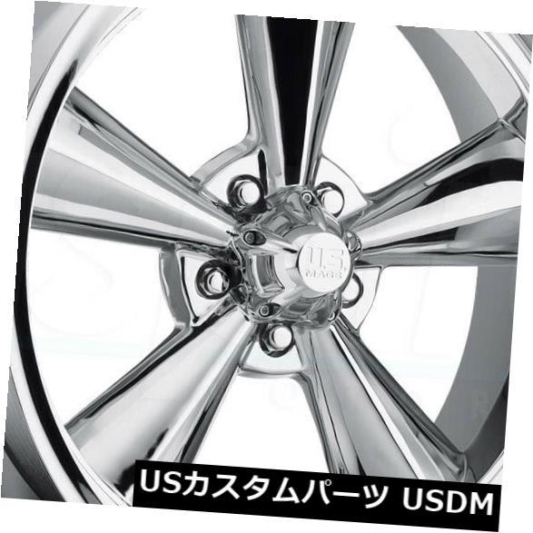 海外輸入ホイール 15x7クロームホイールUS Mags Standard U104 5x4.5 -6(4個セット) 15x7 Chrome Wheels US Mags Standard U104 5x4.5 -6 (Set of 4)