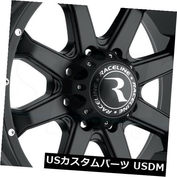 完成品 海外輸入ホイール 16x8 Black Wheels Raceline 991B Assault 5x114.3 0(4個セット) 16x8 Black Wheels Raceline 991B Assault 5x114.3 0 (Set of 4), くるちかも culticamo babacafe