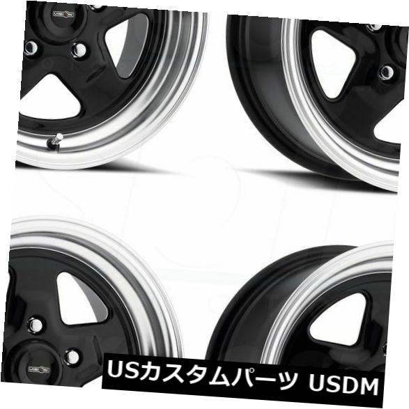 激安大特価! 海外輸入ホイール 15x7 Lip/ 15x8ブラックポリッシュリップホイールVision 4) (Set 521 Nitro 5x114.3 0/0(4個セット) 15x7/15x8 Black Polished Lip Wheels Vision 521 Nitro 5x114.3 0/0 (Set of 4), 金砂郷町:d4ff5c2d --- growyourleadgen.petramanos.com