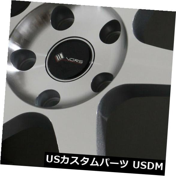 【最新入荷】 海外輸入ホイール 35 18x9.5シルバーホイールVors TR37 5x108 35(4個セット) 18x9.5 (Set Silver Wheels Vors 4) TR37 5x108 35 (Set of 4), ゴルフセオリー:08cc41de --- tedlance.com
