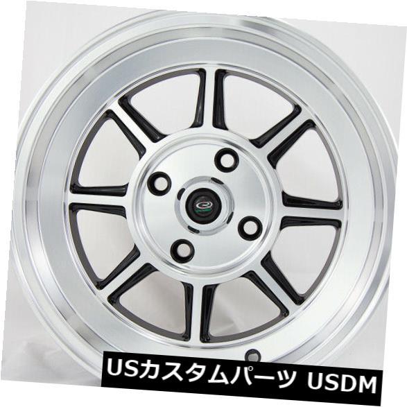 海外輸入ホイール 15x9フルロイヤルブラックホイールロタ積丹4x114.3 0(4個セット) 15x9 Full Royal Black Wheels Rota Shakotan 4x114.3 0 (Set of 4)