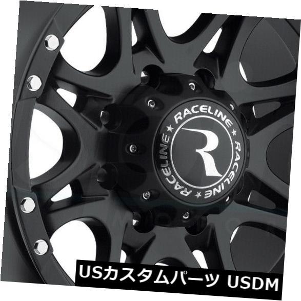 最大80%オフ! 海外輸入ホイール 18x9ブラックホイールRaceline 981 Raptor 8x170 20(4個セット) 4) Wheels 18x9 Black 20 Wheels Raceline 981 Raptor 8x170 20 (Set of 4), 浦和区:e8ca2e33 --- adaclinik.com