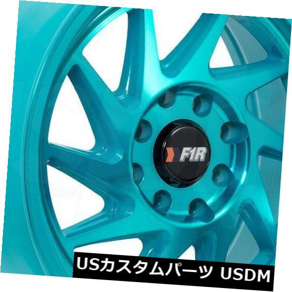 【人気No.1】 海外輸入ホイール F07 15x8 4x100 Machine Teal Wheels F1R F07 4x100 F1R/ 4x114.3 25(4個セット) 15x8 Machine Teal Wheels F1R F07 4x100/4x114.3 25 (Set of 4), 買取り実績 :f92e2124 --- online-cv.site