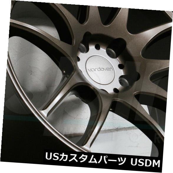 海外輸入ホイール 19x10.5マットブロンズホイールVordoven Forme 9 5x114.3 22(4個セット) 19x10.5 Matte Bronze Wheels Vordoven Forme 9 5x114.3 22 (Set of 4)