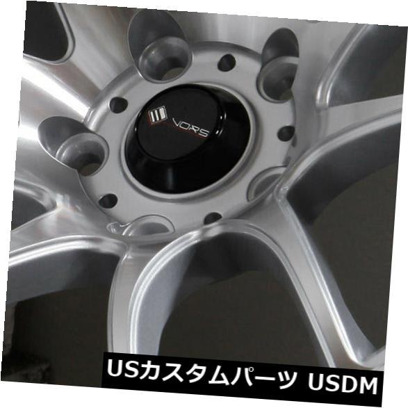 最新デザインの 海外輸入ホイール 17x8 TR4 TR4/ 17x9シルバー加工ホイールVors TR4 5x108 35 Wheels/30(4個セット) 17x8/17x9 Silver Machined Wheels Vors TR4 5x108 35/30 (Set of 4), STYLE STORE version.R:aa937586 --- tedlance.com