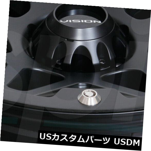 最も完璧な 海外輸入ホイール 17x9サテンブラックホイールビジョン416 Se7En 5x5.5/ Se7En 5x139.7 12(4個セット) 17x9 416 Se7En Satin Black Wheels Vision 416 Se7En 5x5.5/5x139.7 12 (Set of 4), 花と緑:7af5ca68 --- rednuncamais.online