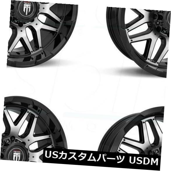【限定製作】 海外輸入ホイール (Set 20x9ブラックホイールTruxx AT151 8x170 0(4個セット) 20x9 0 Black Wheels Truxx Black AT151 8x170 0 (Set of 4), ミナミウオヌマグン:cb0457cd --- rednuncamais.online