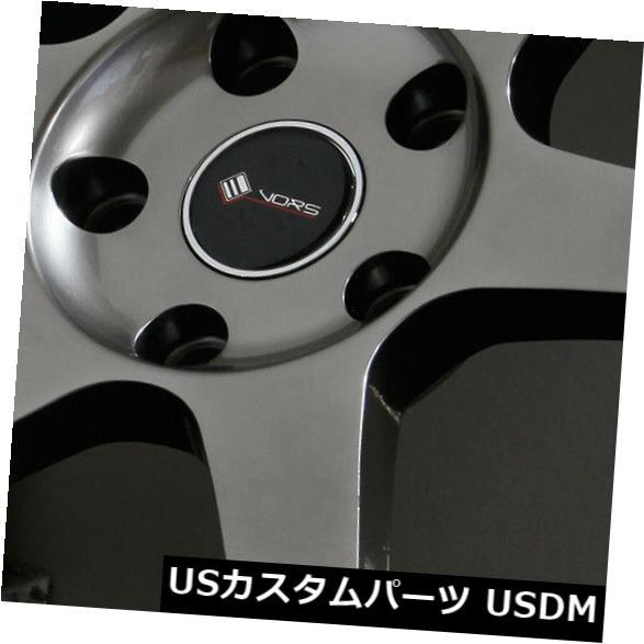 低価格で大人気の 海外輸入ホイール 5x114.3 18x9.5 Wheels Hyper Black (Set Wheels Vors TR37 5x114.3 35(4個セット) 18x9.5 Hyper Black Wheels Vors TR37 5x114.3 35 (Set of 4), イーパレット:848d0cf6 --- growyourleadgen.petramanos.com