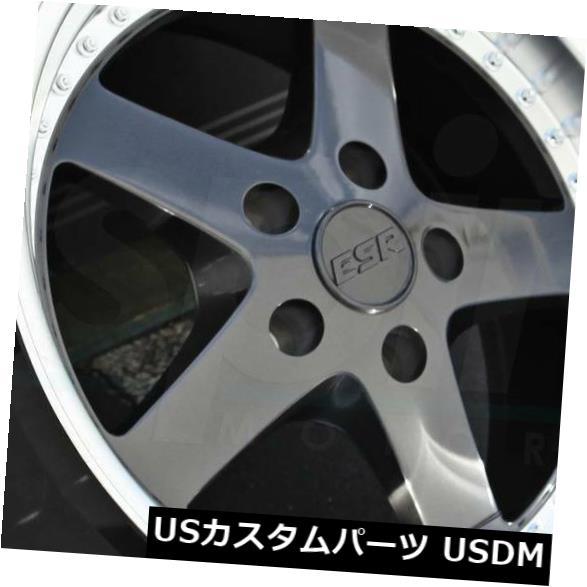 当店在庫してます! 海外輸入ホイール 18x8.5/ 18x9.5ガンメタルホイールESR of SR04 SR04 SR4 (Set 5x114.3 30/22(4個セット) 18x8.5/18x9.5 Gun Metal Wheels ESR SR04 SR4 5x114.3 30/22 (Set of 4), YRMS WORKS:745e46cb --- growyourleadgen.petramanos.com