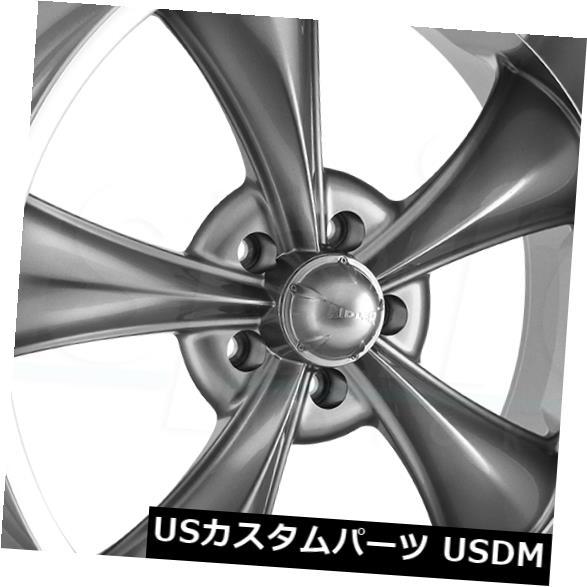 素敵な 海外輸入ホイール of Wheels 17x8 Gunmetal Wheels Ridler 695 5x5/ 5x127 17x8 0(4個セット) 17x8 Gunmetal Wheels Ridler 695 5x5/5x127 0 (Set of 4), ハワイ発手彫工房@サザンブルー:783dea6f --- irecyclecampaign.org