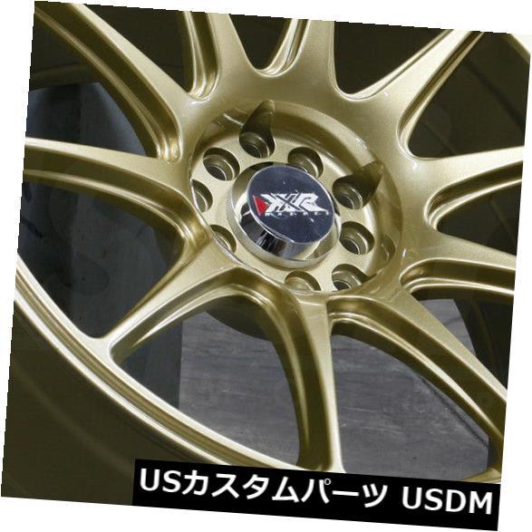 【安心発送】 海外輸入ホイール 17x7.5 XXR 17x7.5ゴールドホイールXXR 527 5x100/ 5x114.3/ 40(4個セット) 17x7.5 Gold Wheels XXR 527 5x100/5x114.3 40 (Set of 4), 大森町:40f0d0f0 --- irecyclecampaign.org