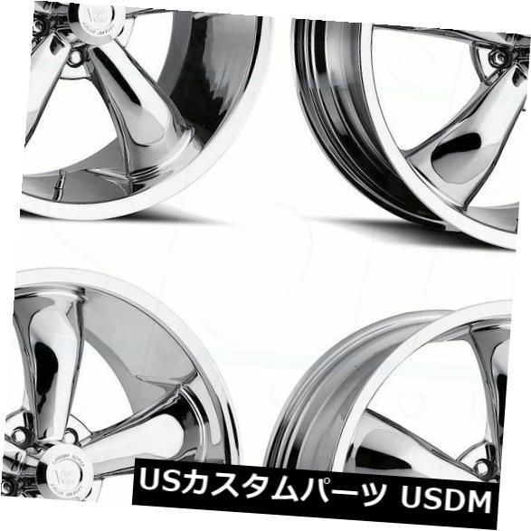 即納!最大半額! 海外輸入ホイール 18x8.5 Chrome (Set Wheels Vision 142 18x8.5 Legend Wheels 5 5x115 20(4個セット) 18x8.5 Chrome Wheels Vision 142 Legend 5 5x115 20 (Set of 4), おいしく飲呑会:32be0452 --- avpwingsandwheels.com