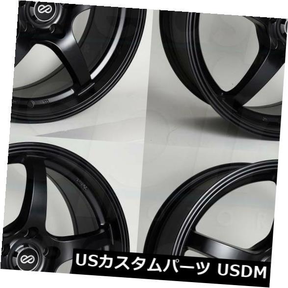 最新発見 海外輸入ホイール 18x8ブラックペイントホイールEnkei VR5 5x114.3 5x114.3 40(4個セット) 18x8 Black Wheels Paint 4) Wheels Enkei VR5 5x114.3 40 (Set of 4), ヒガシチクマグン:8a8b76e6 --- avpwingsandwheels.com