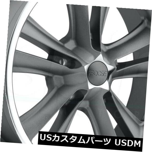【メーカー直送】 海外輸入ホイール 17x7 GunMetal Wheels 17x7 Foose Knuckle F099 5x4.5 4) 1(4個セット) (Set 17x7 GunMetal Wheels Foose Knuckle F099 5x4.5 1 (Set of 4), アップル商店:2b3d52f2 --- avpwingsandwheels.com