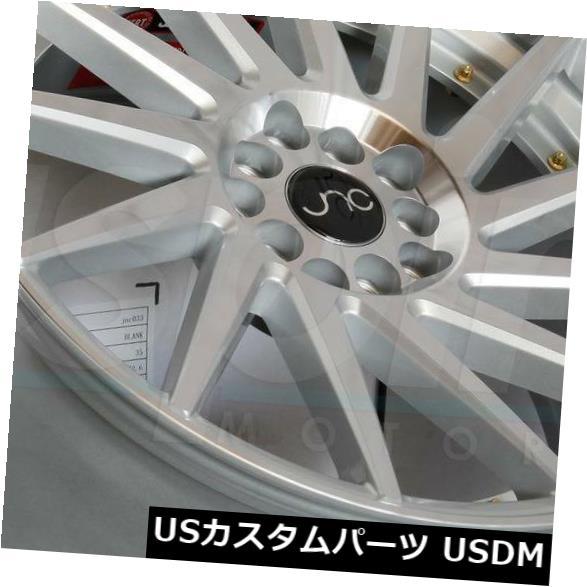 【オープニング大セール】 海外輸入ホイール JNC 18x8.5/ 18x9.5シルバーのマシンフェイス。 ホイールJNC Wheels 051 JNC051 5x100 of 35/35(4個セット) 18x8.5/18x9.5 Silver Machine Face. Wheels JNC 051 JNC051 5x100 35/35 (Set of 4), 新星堂WonderGOO:6e0d3286 --- themezbazar.com