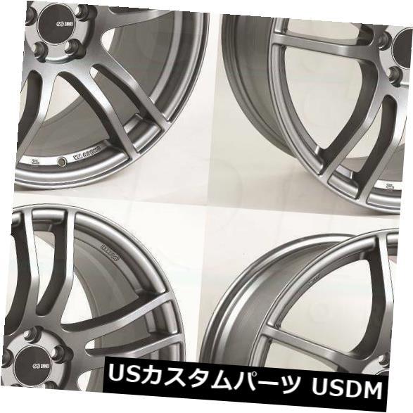 競売 海外輸入ホイール 17x8 Platinum Grey Wheels Platinum Enkei TX5 Enkei 5x114.3 45(4個セット) (Set 17x8 Platinum Grey Wheels Enkei TX5 5x114.3 45 (Set of 4), 小さいサイズSHOP Chou Rose:c8dbde91 --- growyourleadgen.petramanos.com