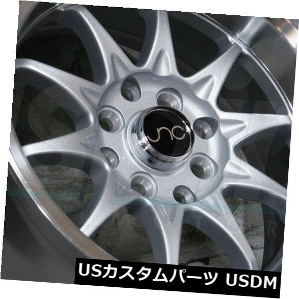 【70%OFF】 海外輸入ホイール Silver 15x9シルバーマシンリップホイールJNC 003 JNC003 4x100 (Set Wheels/ 4x114.3 0(4個セット) 15x9 Silver Machine Lip Wheels JNC 003 JNC003 4x100/4x114.3 0 (Set of 4), 和泉市:48d516ba --- sap-latam.com
