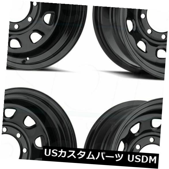 店舗良い 海外輸入ホイール 17x9 Black Wheels Vision 4) 84 Vision 6x135 of -12(4個セット) 6x135 17x9 Black Wheels Vision 84 Vision 6x135 -12 (Set of 4), ダイヤモンド卸 ファウスト:8a2ba64d --- pwucovidtrace.com