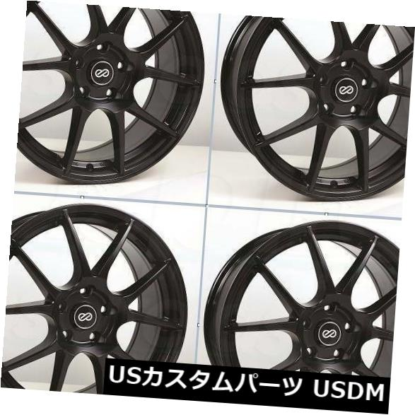 憧れ 海外輸入ホイール Paint Black 17x7.5ブラックペイントホイールエンケイYS5 5x114.3 50(4個セット) Wheels 17x7.5 Black Paint Wheels Enkei YS5 5x114.3 50 (Set of 4), eヘルスジャパン:20ba63a8 --- tedlance.com