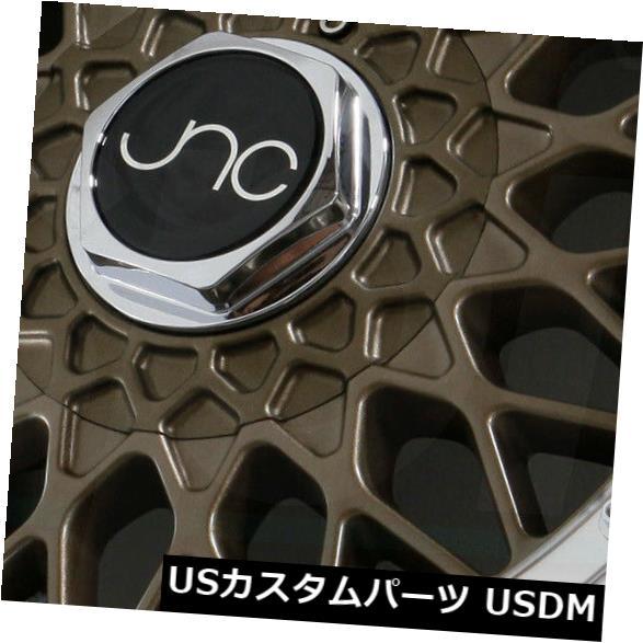 高級感 海外輸入ホイール 15x8マットブロンズマシンリップホイールJNC 004 4x100/4x114.3 JNC004 (Set Matte 4x100/ 4x114.3 20(4個セット) 15x8 Matte Bronze Machine Lip Wheels JNC 004 JNC004 4x100/4x114.3 20 (Set of 4), ダイワチョウ:08a038f1 --- booking.thewebsite.tech
