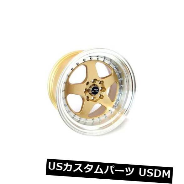 人気提案 海外輸入ホイール 18x9ゴールドマシンリップホイールJNC 010 JNC010 4) 5x120 Gold 30 30(4個セット) 18x9 Gold Machine Lip Wheels JNC 010 JNC010 5x120 30 (Set of 4), Party Palette:4eaa69ea --- tedlance.com