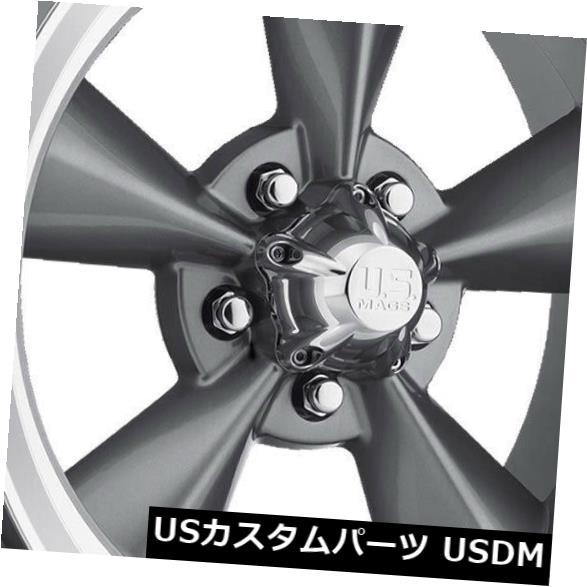 海外輸入ホイール 15x9 GunMetal Wheels US Mags Standard U102 5x4.75 5x120.6 5 1 4個セット 15x9 GunMetal Wheels US Mags Standard U102 5x4.75 5