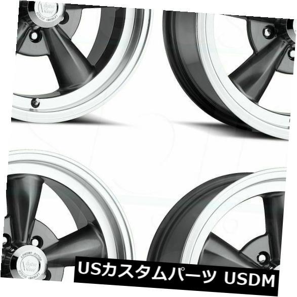 海外輸入ホイール 15x8 Gunmetal Wheels Vision 141 Legend 5 5x5 / 5x127 0(4個セット) 15x8 Gunmetal Wheels Vision 141 Legend 5 5x5/5x127 0 (Set of 4)