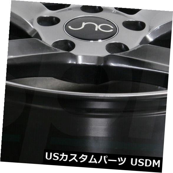 海外輸入ホイール 19x9.5 / 19x10.5 Hyper Black Wheels JNC 026 JNC026 5x114.3 40/25(4個セット) 19x9.5/19x10.5 Hyper Black Wheels JNC 026 JNC026 5x114.3 40/25 (Set of 4)