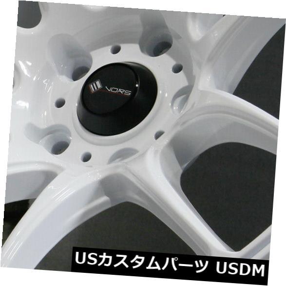 海外輸入ホイール 17x9 White Wheels Vors TR4 5x112 30 4個セット 17x9 White Wheels Vors TR4 5x112 30 Set of 4 就職祝 名入れ お礼 プレミアム•学割 対象