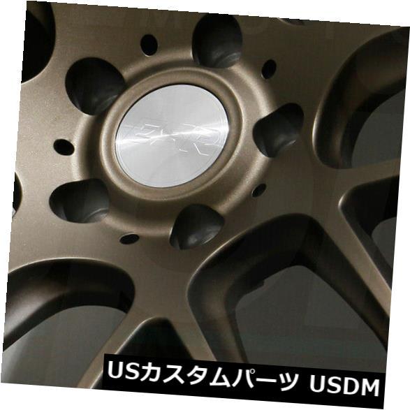 【中古】 海外輸入ホイール 18x9.5 18x9.5/ 18x10.5ブロンズホイールESR SR12 5x114.3 22 5x114.3/22(4個セット) ESR 18x9.5/18x10.5 Bronze Wheels ESR SR12 5x114.3 22/22 (Set of 4), 有田町:fb620029 --- ecommercesite.xyz