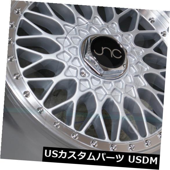 楽天 海外輸入ホイール 18x9.5シルバーマシンリップホイールJNC 004 JNC004 4x100 / 4x114.3 25(4個セット) 18x9.5 Silver Machine Lip Wheels JNC 004 JNC004 4x100/4x114.3 25 (Set of 4), 大森西三丁目商店 d19b838d
