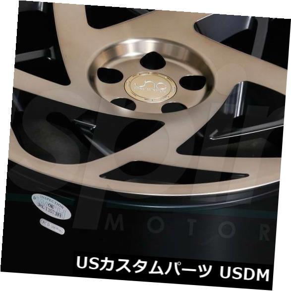【人気商品!】 海外輸入ホイール 19x8.5マットブラックブロンズフェイスホイールJNC 047 JNC047 5x112 35(4個セット) 35(4個セット) 19x8.5 Matte Black 4) Black Bronze Face Wheels JNC 047 JNC047 5x112 35 (Set of 4), ネイル工房:eb0977f0 --- anekdot.xyz