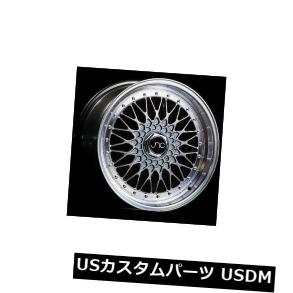 海外輸入ホイール 17x8.5ハイパーブラックマシンリップホイールJNC 004 JNC004 5x112 5x120 15 4個セット 17x8.5 Hyper Black Machine Lip Wheels JNC 004 JNC004 5x112