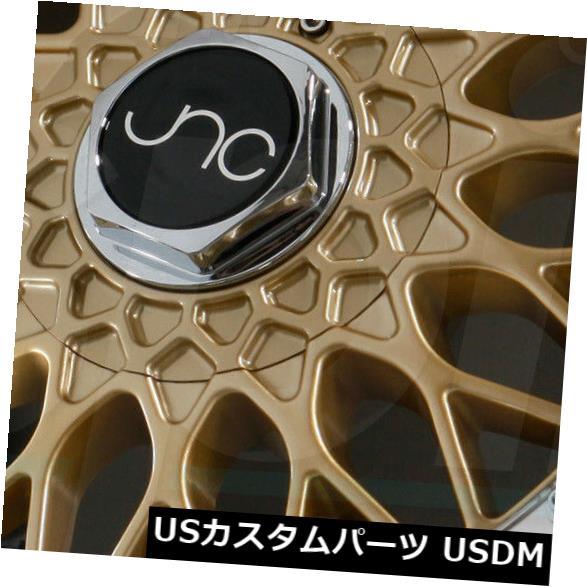 【内祝い】 海外輸入ホイール 18x8.5ゴールドマシンリップホイールJNC 004 JNC004 4x100 4)/ 4x114.3 of JNC 30(4個セット) 18x8.5 Gold Machine Lip Wheels JNC 004 JNC004 4x100/4x114.3 30 (Set of 4), SJ-SHOP:53176ed1 --- themezbazar.com