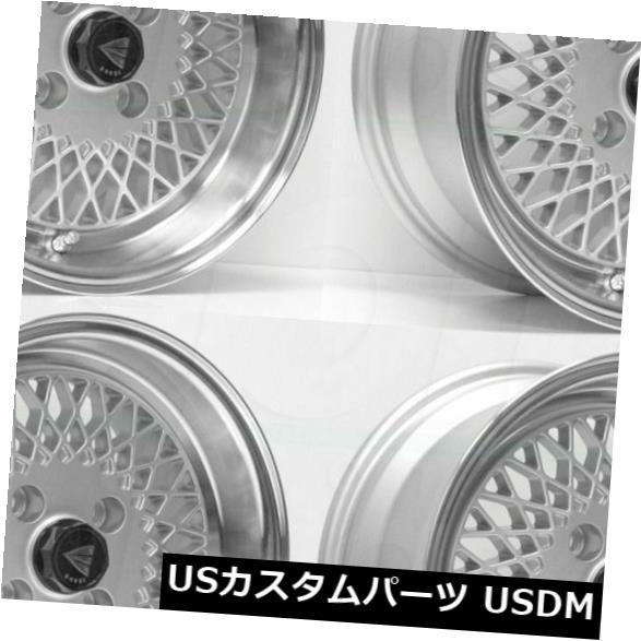 """海外輸入ホイール 4-New 15 """"""""Enkei Enkei92 Wheels 15x7 4x100 38シルバーペイントリム 4-New 15"""""""" Enkei Enkei92 Wheels 15x7 4x100 38 Silver Paint Rims"""