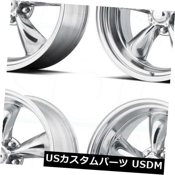 【超歓迎】 海外輸入ホイール Rims 4-新しい15インチVN515 Torqスラスト1 PCホイール15x4 Wheels 5x4.75/ 15x4 5x120.6 5-25ポリッシュリム 4-New 15