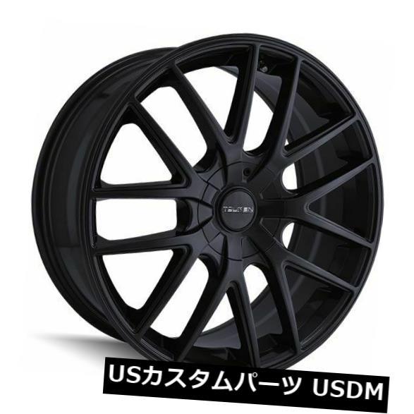 車用品 バイク用品 >> タイヤ ホイール 海外輸入ホイール 4-新しい16インチTouren TR60ホイール16x7 5x100 ファクトリーアウトレット 5x114.3 42フルマットブラックリム Wheels 16