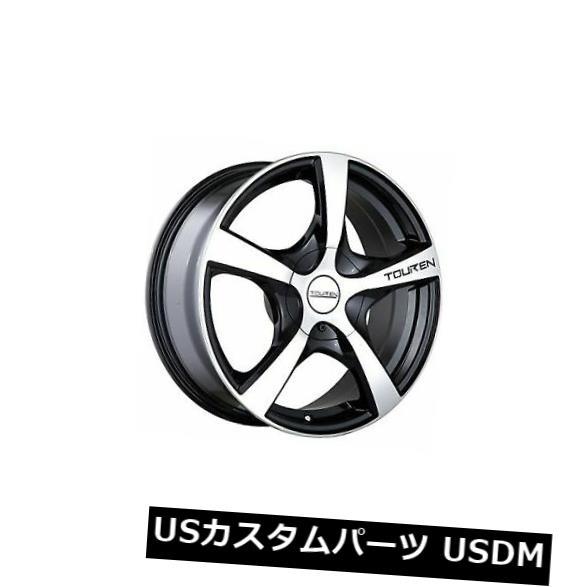 車用品 バイク用品 >> タイヤ 評価 ホイール 海外輸入ホイール 4-新しい16インチTouren TR9ホイール16x7 5x110 日本正規代理店品 5x115 42ブラック加工リム Wheels Black 16x7 Machined Rims 16