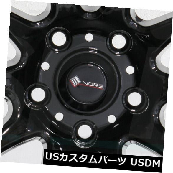 海外輸入ホイール 4-新しい18インチVors TR4ホイール18x9.5 5x120 35ブラックリム 4-New 18