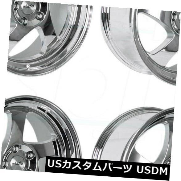 人気の春夏 海外輸入ホイール Rims Wheels 4-新しい18インチウィスラーKR1ホイール18x8.5/ 18x9.5 5x120 35 KR1/35クロームスタッガードリム 4-New 18