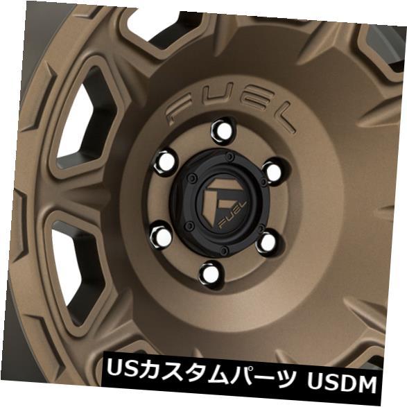 華麗 海外輸入ホイール 4-新しい17 17x9 Fuel