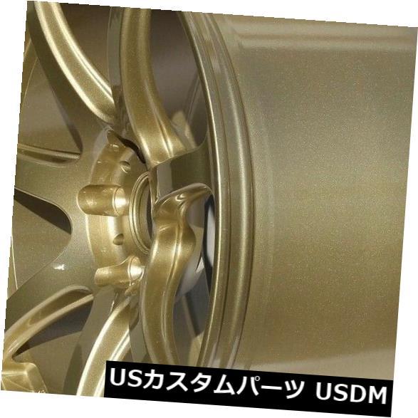 人気商品の 海外輸入ホイール 4-新しい18インチRota Vector Proホイール18x9.5 5x114.3 38ゴールドリム Proホイール18x9.5 4-New 18