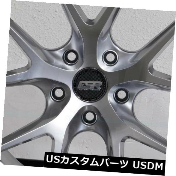 <title>車用品 バイク用品 >> タイヤ ホイール 海外輸入ホイール 4-新しい19インチESR RF02 RF2ホイール19x9.5 5x120 35ハイパーシルバーリム 4-New 19
