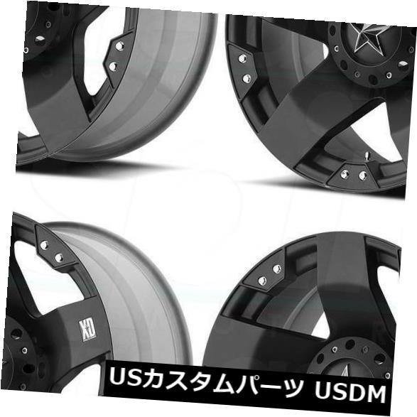 【年間ランキング6年連続受賞】 海外輸入ホイール 4-New 20 Matte 5x5/5x5.5