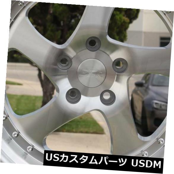 限定価格セール! 海外輸入ホイール 4-新しい19インチESR Silver SR02 Stagg SR2ホイール19x9.5/ 19x10.5 5x114.3 35/22機械加工シルバーStagg 5x114.3 4-New 19